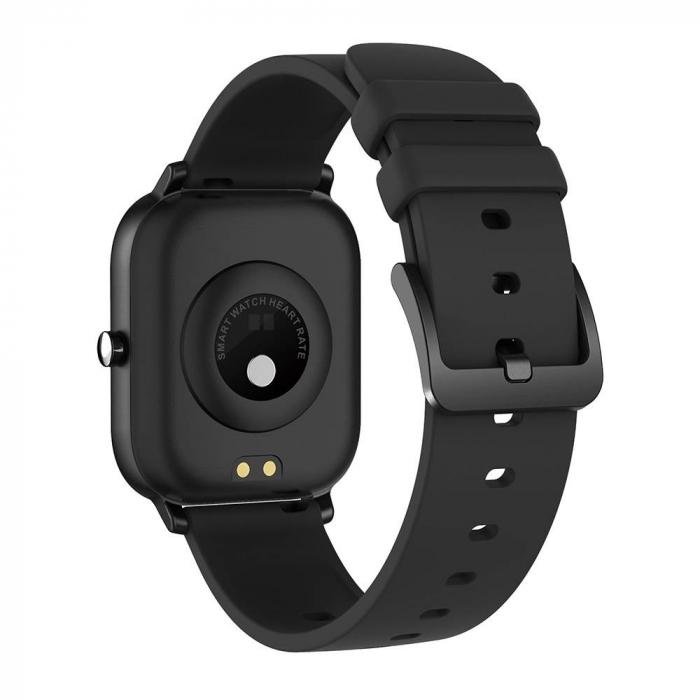 Ceas smart Colmi P8 Pro, monitorizare temperatura, somn, sporturi si ritm cardiac, IP67, notificari, sticla securizata 2.5D 2