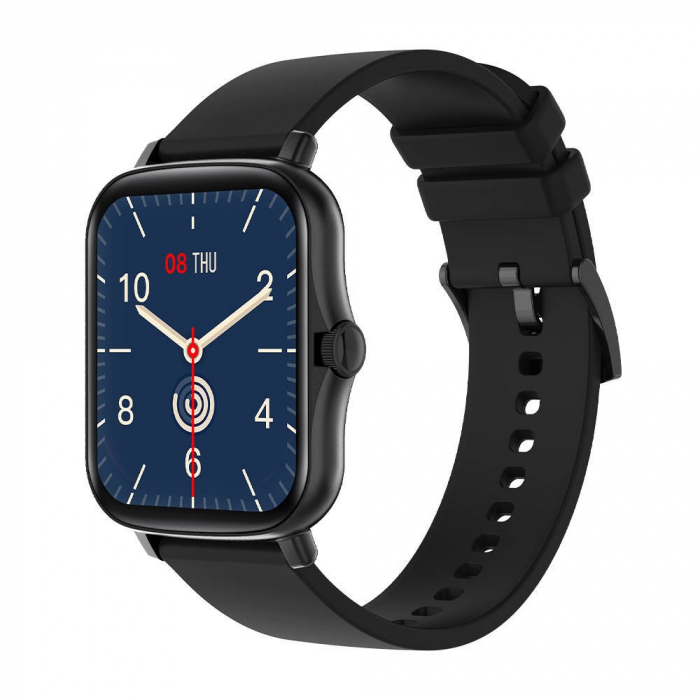 Smartwatch Colmi P8 Plus, display 1.69″, bluetooth 5.1, monitorizare somn, ritm cardiac, activitati sportive, notificari, IP67 0