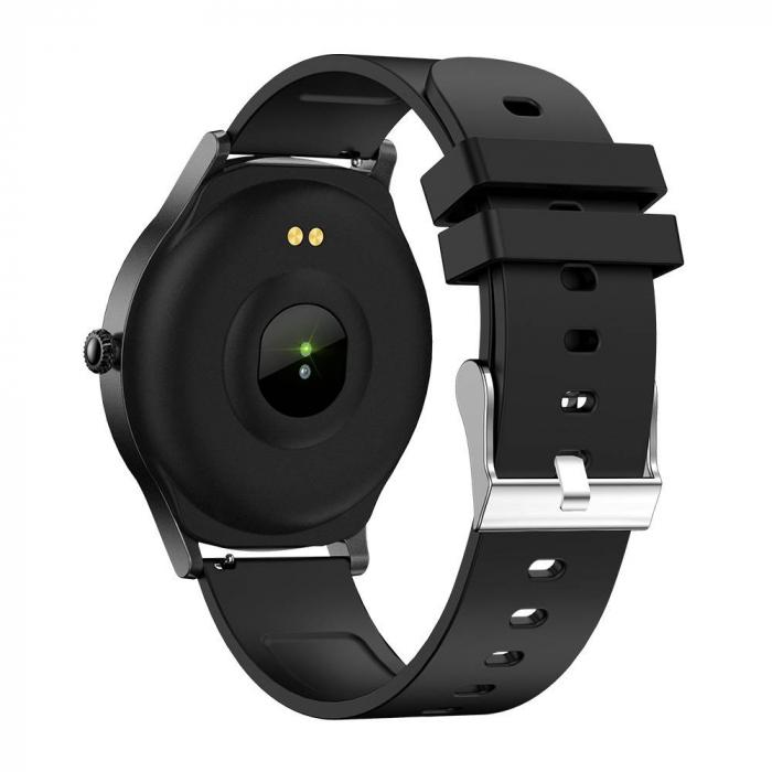 Smartwatch Colmi model V31, monitorizare ritm cardiac, somn, 9 moduri sport, IP67, notificari, bluetooth 5.0, negru [2]