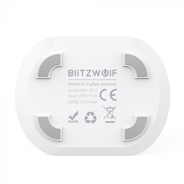 Gateway Blitzwolf BW-IS10, ZigBee 3.0, pentru ecosistemul smart home Tuya & Smart Life 3