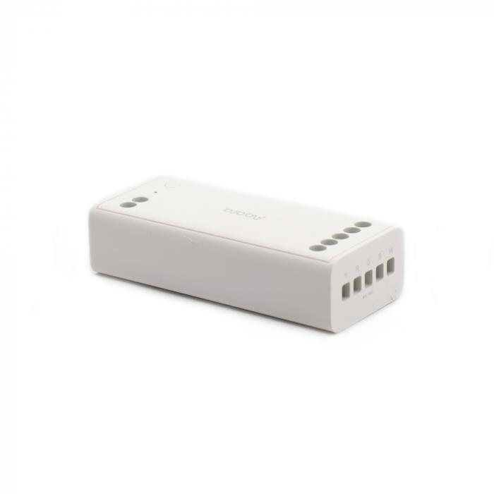 Controller & dimmer smart Aqara T1, pentru benzi LED RGBW, ZigBee 3.0, monitorizare consum, integrare Aqara Home EU & Homekit 1