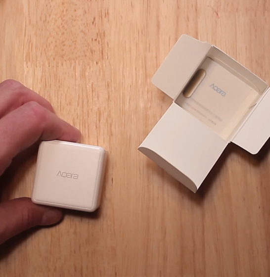 Cub smart home Aqara, 6 moduri de control, accelerometru, giroscop, ZigBee 2