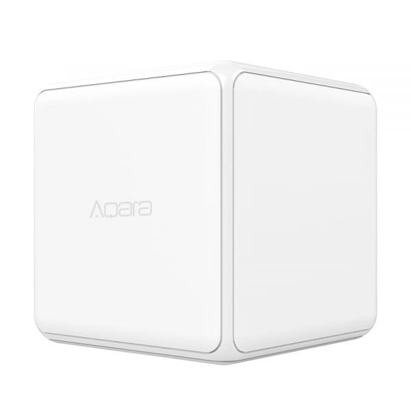 Cub Aqara versiune europeana, pentru control smart, 6 actiuni programabile, accelerometru, giroscop, ZigBee 0