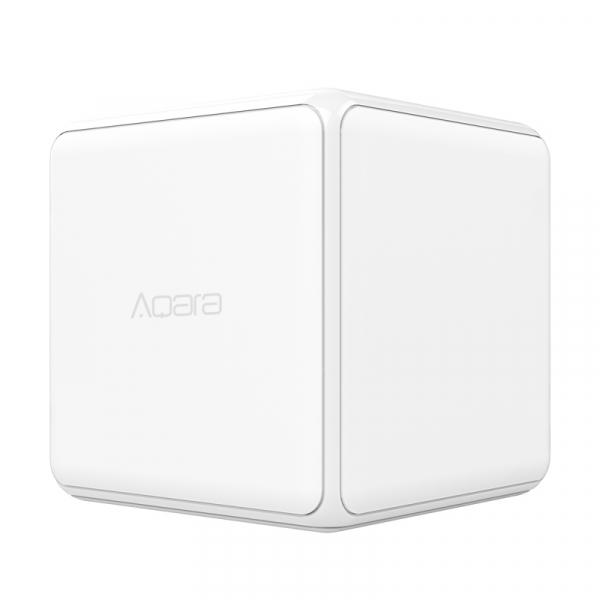 Cub Aqara versiune europeana, resigilat, pentru control smart, 6 actiuni programabile, accelerometru, giroscop, ZigBee [0]