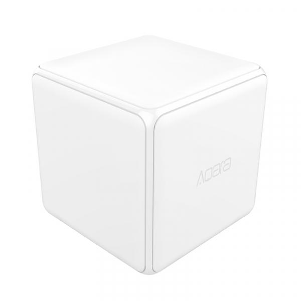 Cub Aqara versiune europeana, pentru control smart, 6 actiuni programabile, accelerometru, giroscop, ZigBee [1]
