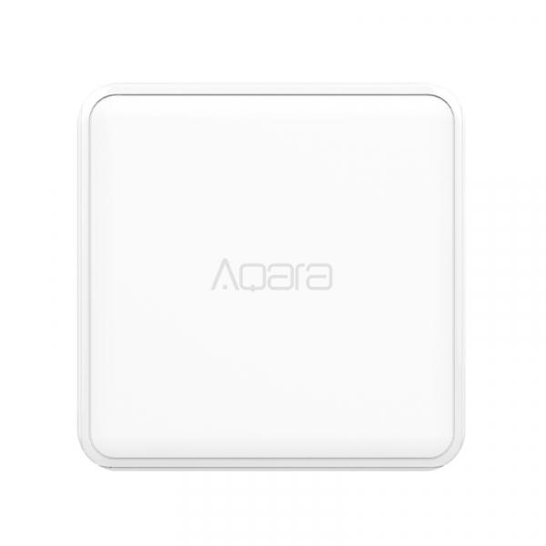 Cub Aqara versiune europeana, pentru control smart, 6 actiuni programabile, accelerometru, giroscop, ZigBee 2