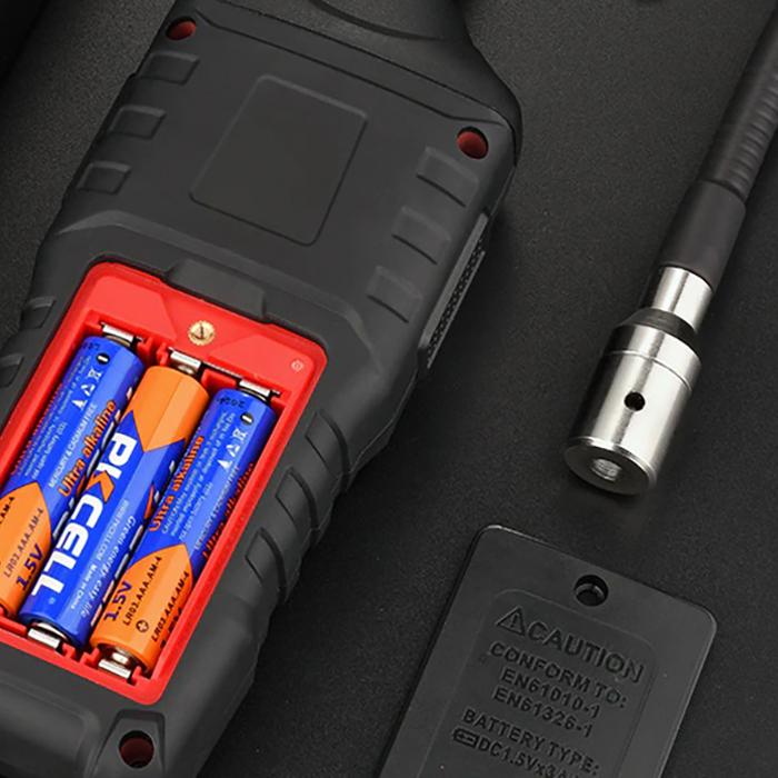 Detector portabil pentru scurgeri gaze Habotest HT601A, display LCD, alerta sonora si vizuala, auto zero [2]