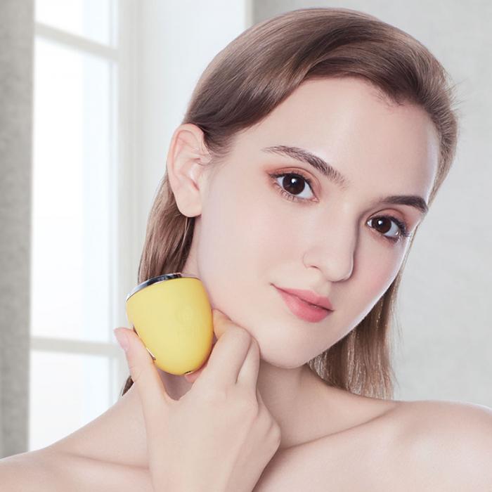 Device pentru ingrijire faciala Xiaomi inFace cu ioni, masaj cu vibratii frecventa inalta, rejuvenare ten, curatare faciala, IPX6 1