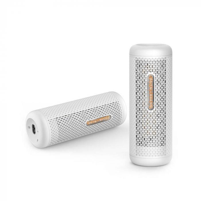 Dezumidificator Deerma mini, DEM-CS50MW, 360 °, fara consumabile, cu particule, alb 0