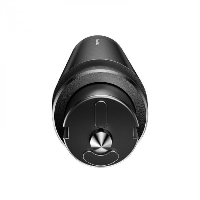 Dispozitiv de siguranta 2 in 1 auto Baseus pentru spart parbriz si taiere centura, gri 2