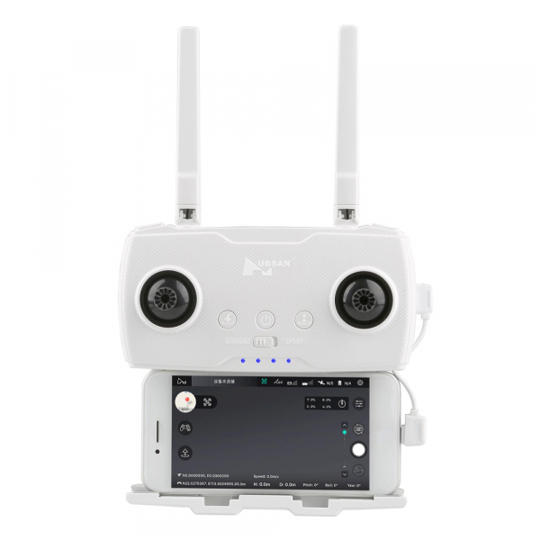 Drona Hubsan Zino, GPS, barometru, Ultra-HD 4K, F2.2, transmisie stabila WiFi 5G, gimbal mecanic cu 3 axe 3
