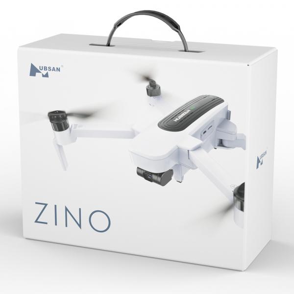 Drona Hubsan Zino, GPS, barometru, Ultra-HD 4K, F2.2, transmisie stabila WiFi 5G, gimbal mecanic cu 3 axe 5