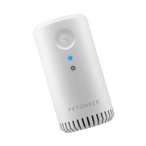 Eliminator mirosuri Petoneer smart, sterilizator, purificare aer, montare in zona lietierei pentru pisici, senzor IR 4