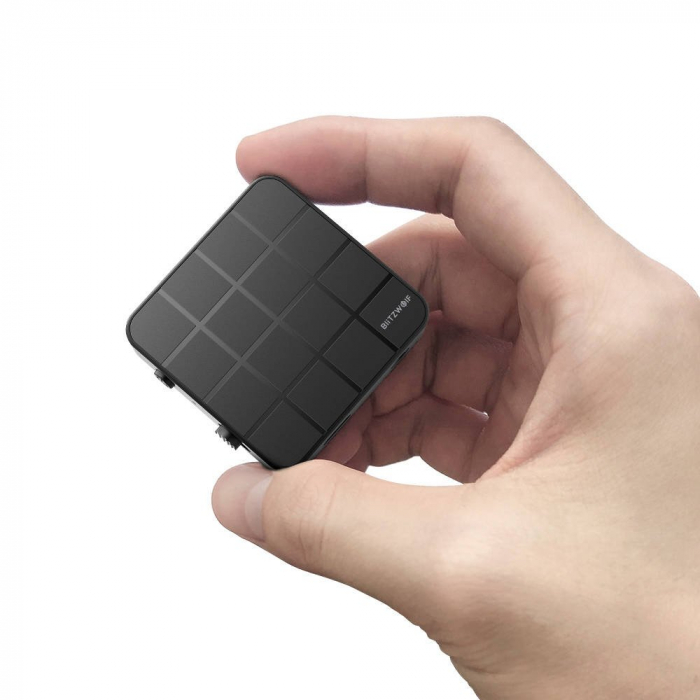 Emitator & receiver BlitzWolf BW-BL2, bluetooth 5.0, 200mAh, USB, aux 3.5 [1]