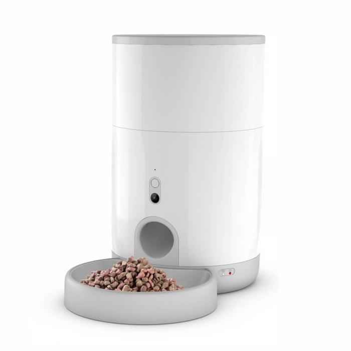 Feeder smart pentru catei sau pisici Petoneer Nutri Vision Mini, camera integrata, 2.6 litri, Wi-Fi, functie programare portie [0]