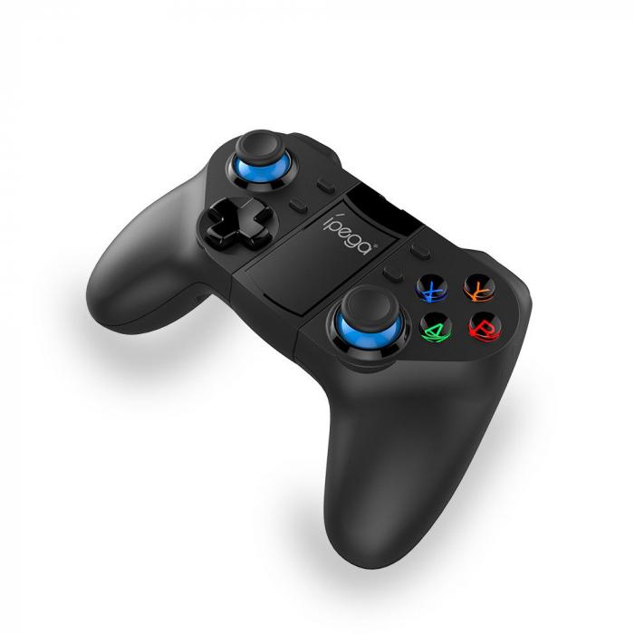 GamePad Controller iPega PG-9129, 400mAh, bluetooth, compatibila Android & iOS, Smart TV sau Win 7/8/10 1
