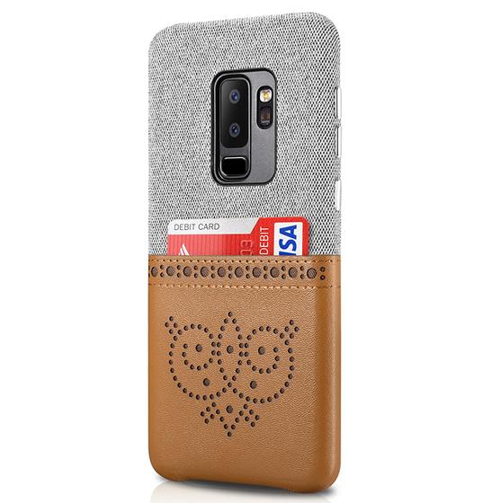 Husa XOOMZ protectie spate Samsung Galaxy S9 Plus, slot pentru card/bancnote 1