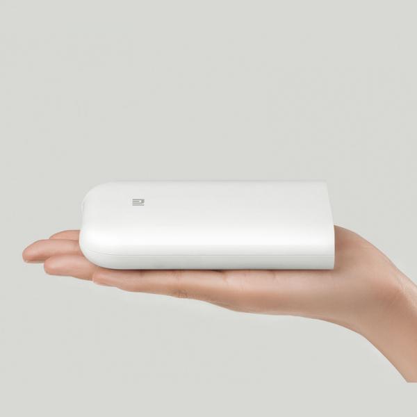 Imprimanta foto Xiaomi portabila smart, tehnologie Thermal-ZINK, bluetooth 5.0, AR, 500mAh, versiune europeana 2