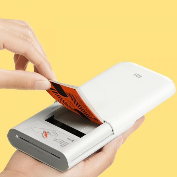 Imprimanta foto Xiaomi portabila smart, tehnologie Thermal-ZINK, bluetooth 5.0, AR, 500mAh, versiune europeana 3