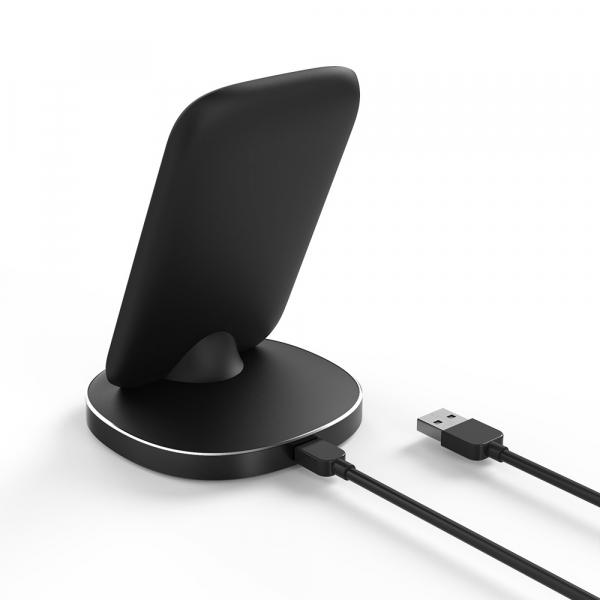 Incarcator wireless Blitzwolf BW-FWC6 cu stand, Qi fast charge, 10 wati, protectii integrate 3