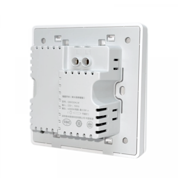 Intrerupator incastrat smart Aqara, ZigBee, fara nul, EU, control de la distanta,compatibil Google Home, Apple Homekit, Mi Home, Aqara Home 2