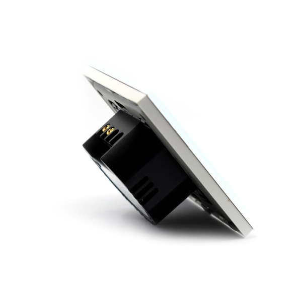 Intrerupator smart Vhub cu touch, panou sticla, Wifi integrat 2.4GHz, compatibil Google & Alexa, alb 3