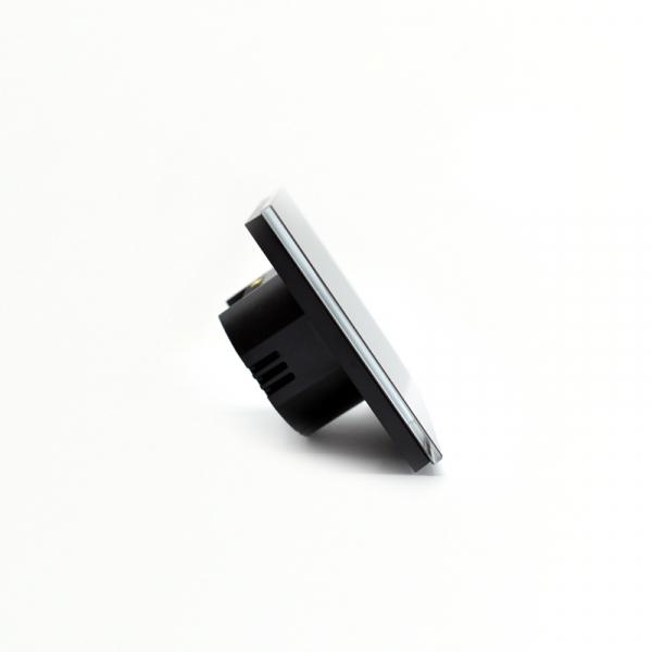 Intrerupator smart Vhub cu touch, panou sticla, Wifi integrat 2.4GHz, compatibil Google & Alexa, negru 5