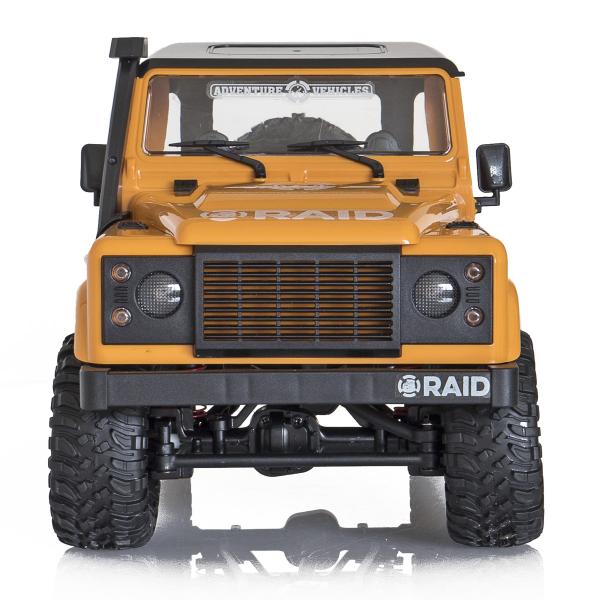 Jeep Off-Road cu telecomanda Funtek Raid2, 4X4, scala 1:12, lumini LED, 700mAh, amortizoare, roti cauciuc 0