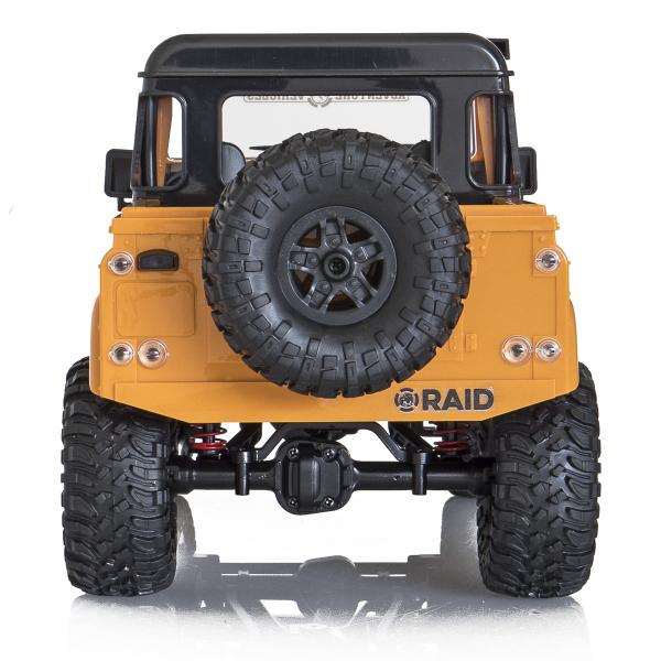 Jeep Off-Road cu telecomanda Funtek Raid2, 4X4, scala 1:12, lumini LED, 700mAh, amortizoare, roti cauciuc 1