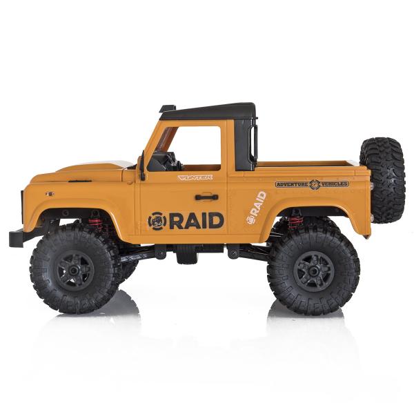 Jeep Off-Road cu telecomanda Funtek Raid2, 4X4, scala 1:12, lumini LED, 700mAh, amortizoare, roti cauciuc 2