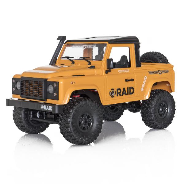 Jeep Off-Road cu telecomanda Funtek Raid2, 4X4, scala 1:12, lumini LED, 700mAh, amortizoare, roti cauciuc 6