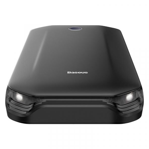Jump starter auto & power bank Baseus 8000 mAh, 5V, 2.4A, intensitate max 800 A, cabluri si clesti incluse 1