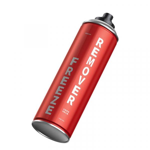 Kit auto Baseus cu spray, laveta si racleta dezghetare parbriz, incuietori, 550ml 1