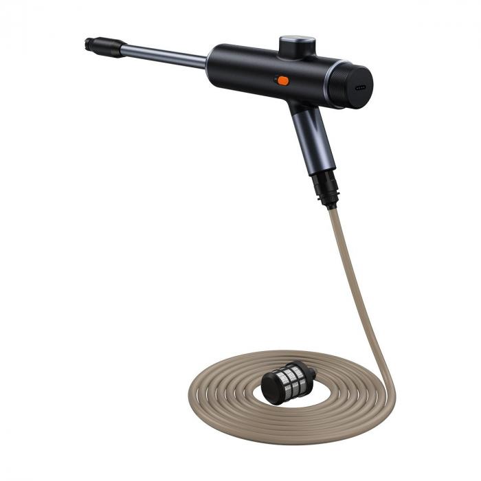 Pistol electric pentru spalare cu presiune Baseus fara fir, 8000mAh, 0.7MPa, 30min autonomie, IPX4, 1.2L/Min 0