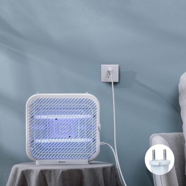 Lampa UV Baseus anti insecte cu suport, 18W, recipient colectare lavabil, arie acoperire 120m², varianta EU 2