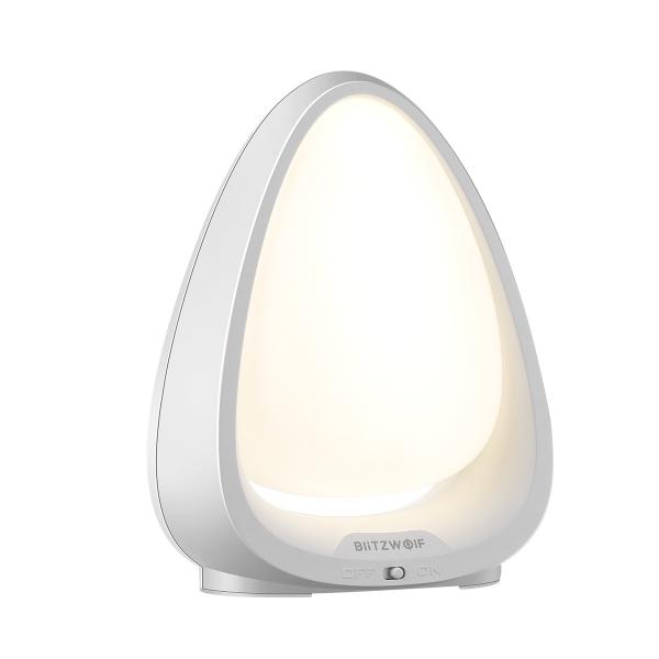 Lampa LED de noapte/veghe pentru copii Blitzwolf cu touch, 4000K, lumina alba + color, 85 lumeni, baterie 600mAh 0