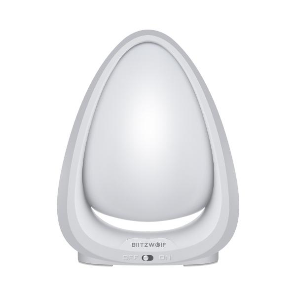 Lampa LED de noapte/veghe pentru copii Blitzwolf cu touch, 4000K, lumina alba + color, 85 lumeni, baterie 600mAh 1