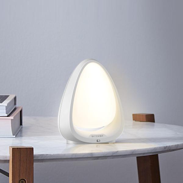 Lampa LED de noapte/veghe pentru copii Blitzwolf cu touch, 4000K, lumina alba + color, 85 lumeni, baterie 600mAh 4