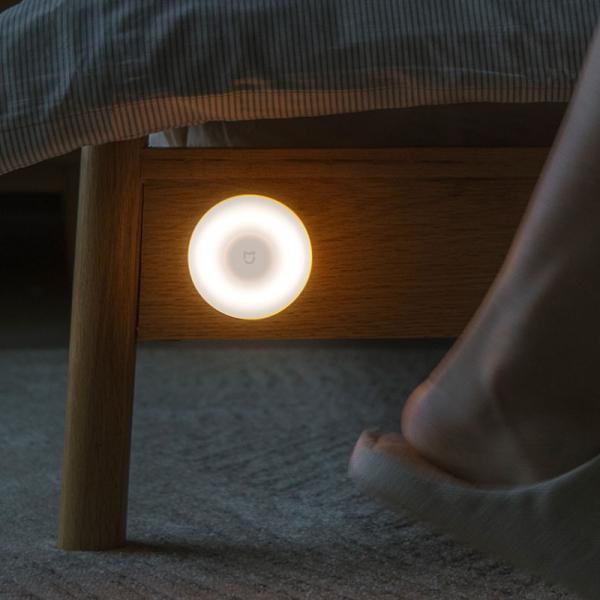 Lampa de noapte Xiaomi gen a 2-a, senzor IR, fotosensibila, 3-25lm, 2800k, ajustabila 360°, baza magnetica 4