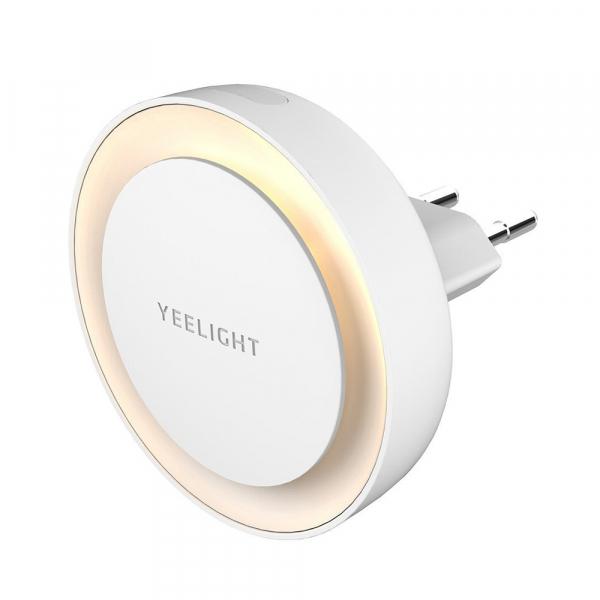 Lampa LED de noapte/veghe Yeelight cu senzor de lumina fotosensibil, 2500K, 0.5W, alimentare la priza [0]