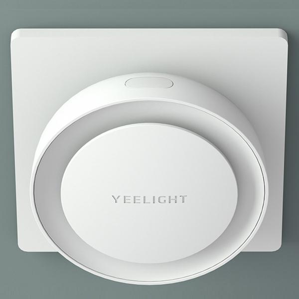 Lampa LED de noapte/veghe Yeelight cu senzor de lumina fotosensibil, 2500K, 0.5W, alimentare la priza [1]