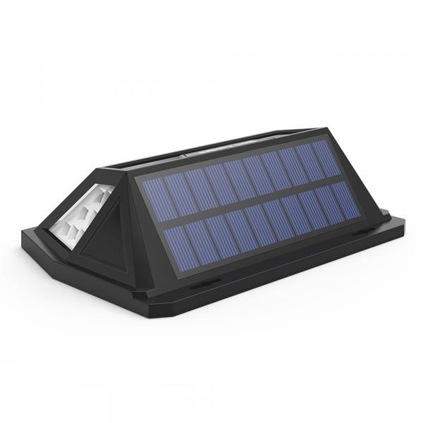 Lampa solara Blitzwolf de perete cu senzor de miscare si lumina, 2200mAh, 350 lumeni, 62 LED-uri, IP64, 6500K 2