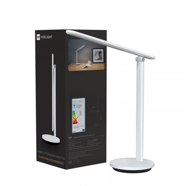 Lampa LED de birou Yeelight Z1 Pro, touch control, 2700-5000K, 2500mAh, type-C, 5W, 200 lumeni, versiune EU 0