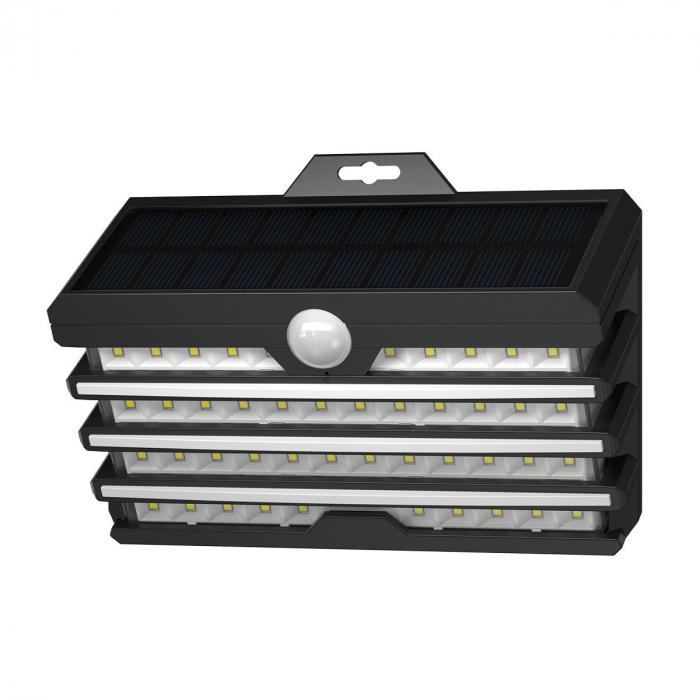 Lampa LED solara Baseus pentru exterior, senzor de miscare, 89 LED-uri, IPX5,1200 mAh 1