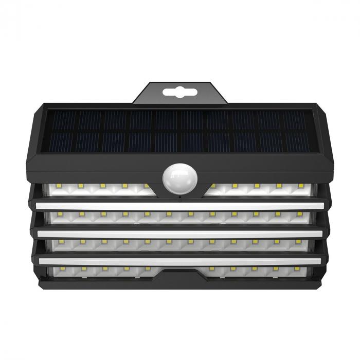 Lampa LED solara Baseus pentru exterior, senzor de miscare, 89 LED-uri, IPX5,1200 mAh 0