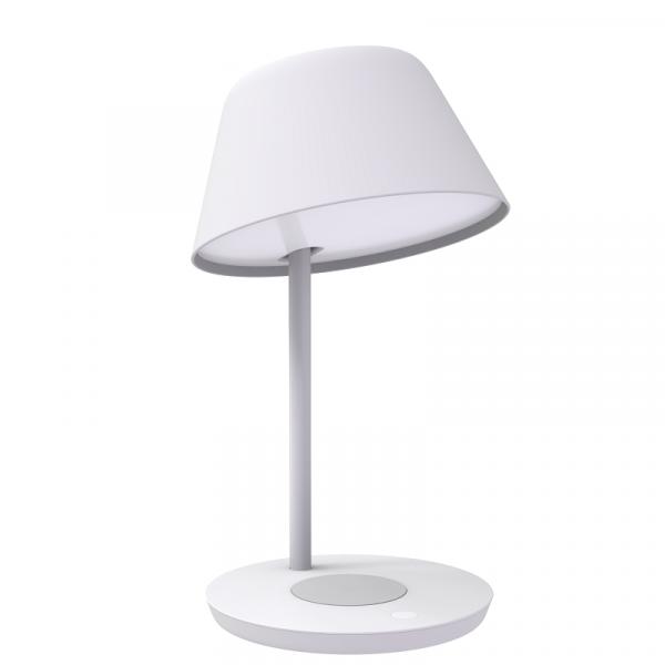 Lampa LED Yeelight Staria Bedside Lamp Pro, incarcare wireless device-uri, compatibila Google, Alexa, Homekit 2