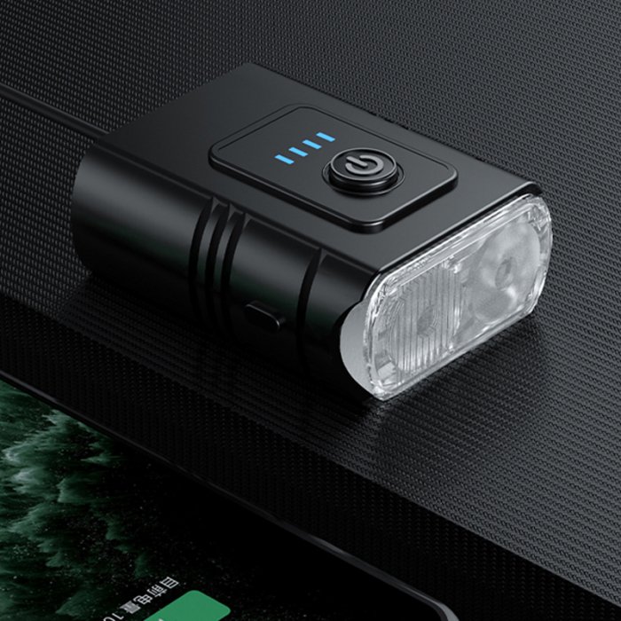 Lanterna bicicleta Supfire GT-R2, 2 reflectoare, 1 lumina rosie de avertizare, 1200mAh, waterproof [2]