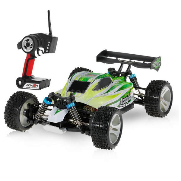 Masinuta RC cu telecomanda BUGGY Off Road, viteza 70Km/h, 2.4 Ghz, scala 1:18, 1400mAh, suspensii independente 0