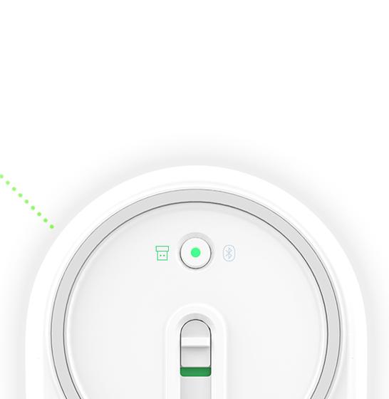 Mouse wireless Xiaomi, conexiune duala RF + Bluetooth, aliaj aluminiu, senzor laser, gold 3