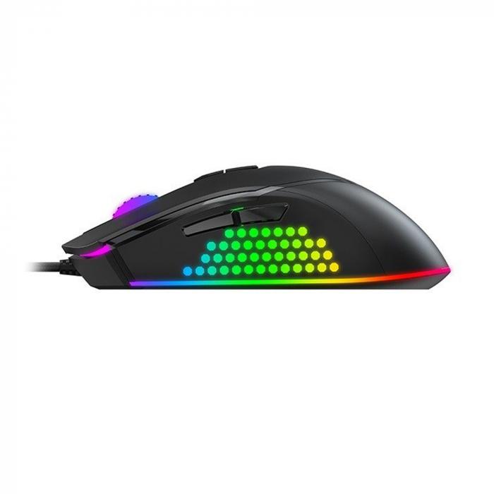 Mouse gaming Havit GAMENOTE MS814, RGB, ajustabil 1000-7000 DPI 2